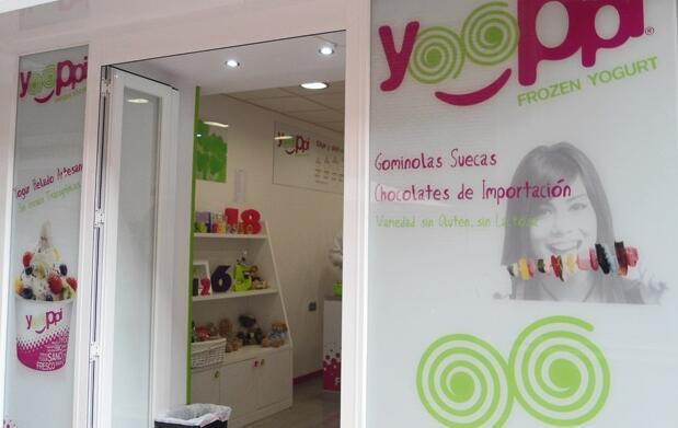 1/2 kg yogur helado para el mundial 4,50€