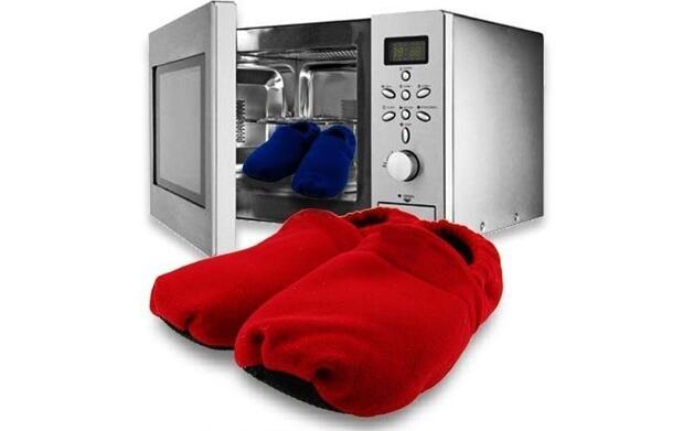 Zapatilla se calienta en microondas 9.5€