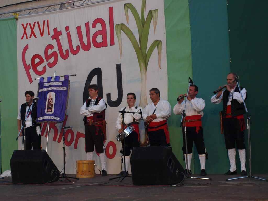 XXVI Festival Folklórico del Ajo en Vallelado (Segovia)