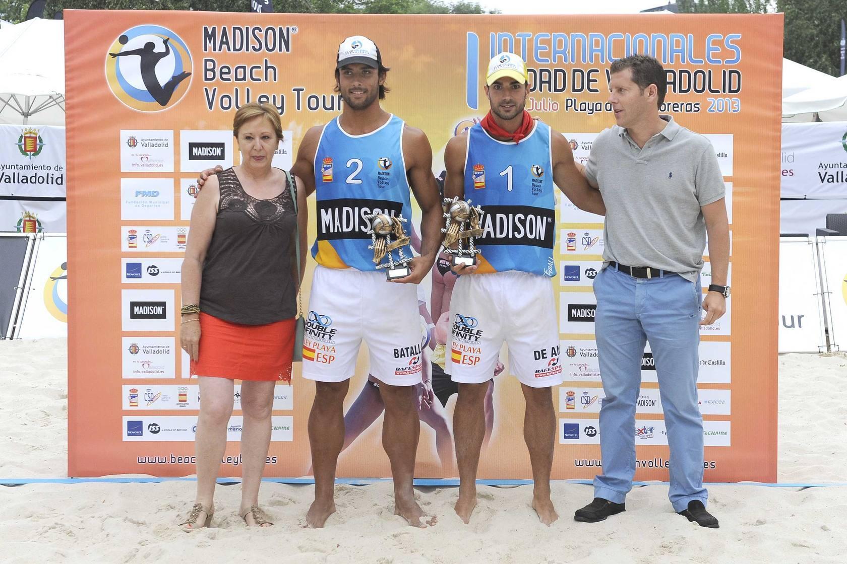 Finales del I Internacionales Ciudad de Valladolid de Voley Playa