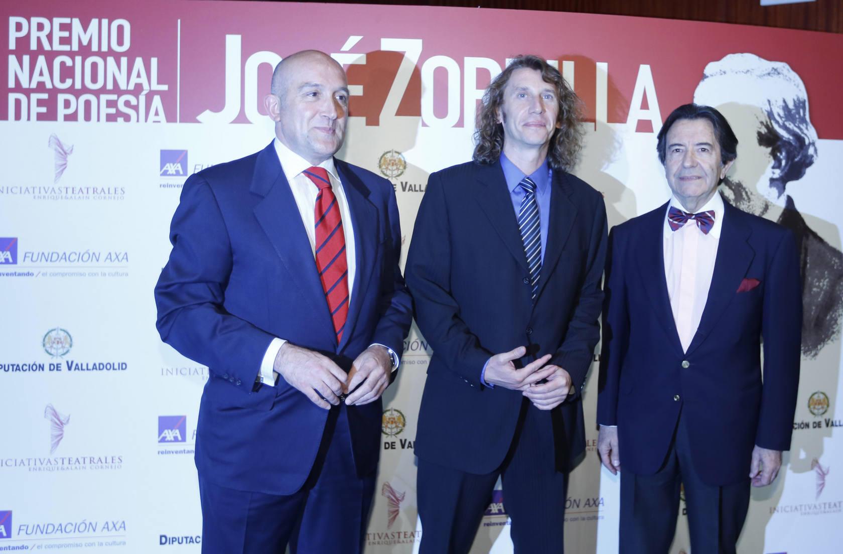 Entrega del Premio de Poesía José Zorrilla a Jorge de Arco