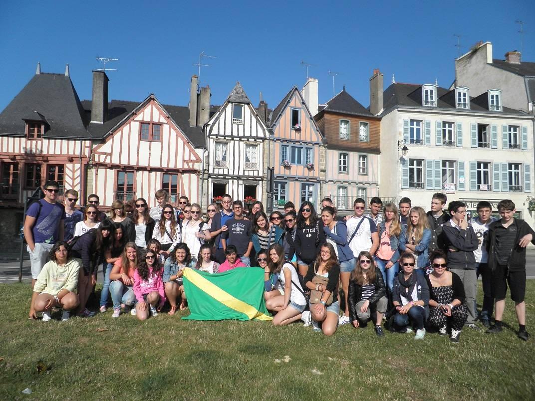 Intercambio juvenil europeo en Saint Nolf