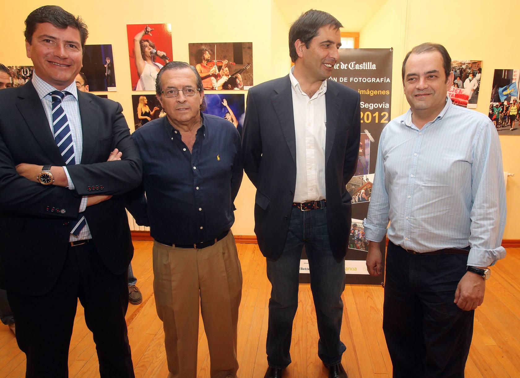 Inauguración de la exposición 'Un año en imágenes' de El Norte de Castilla en Riaza