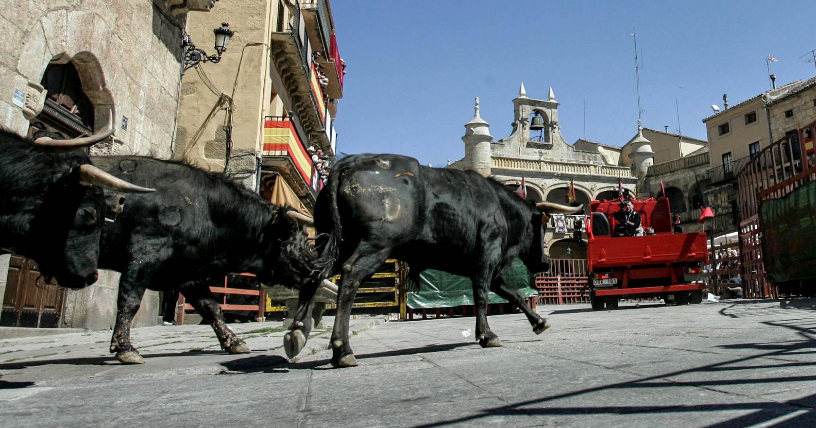 Volvo graba un anuncio para televisión en Ciudad Rodrigo