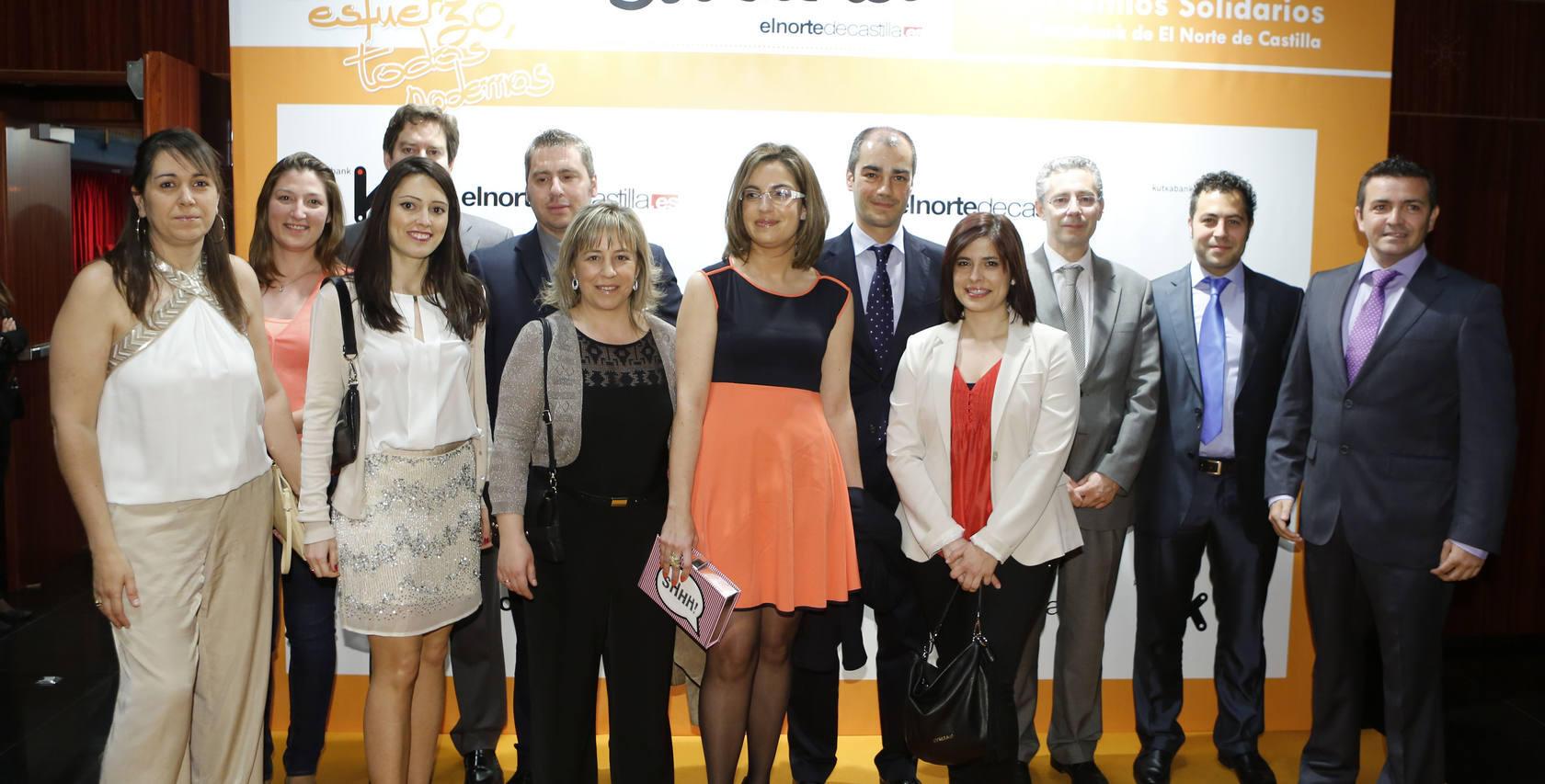Gala de entrega de los II Premios Solidarios Kutxabank de El Norte