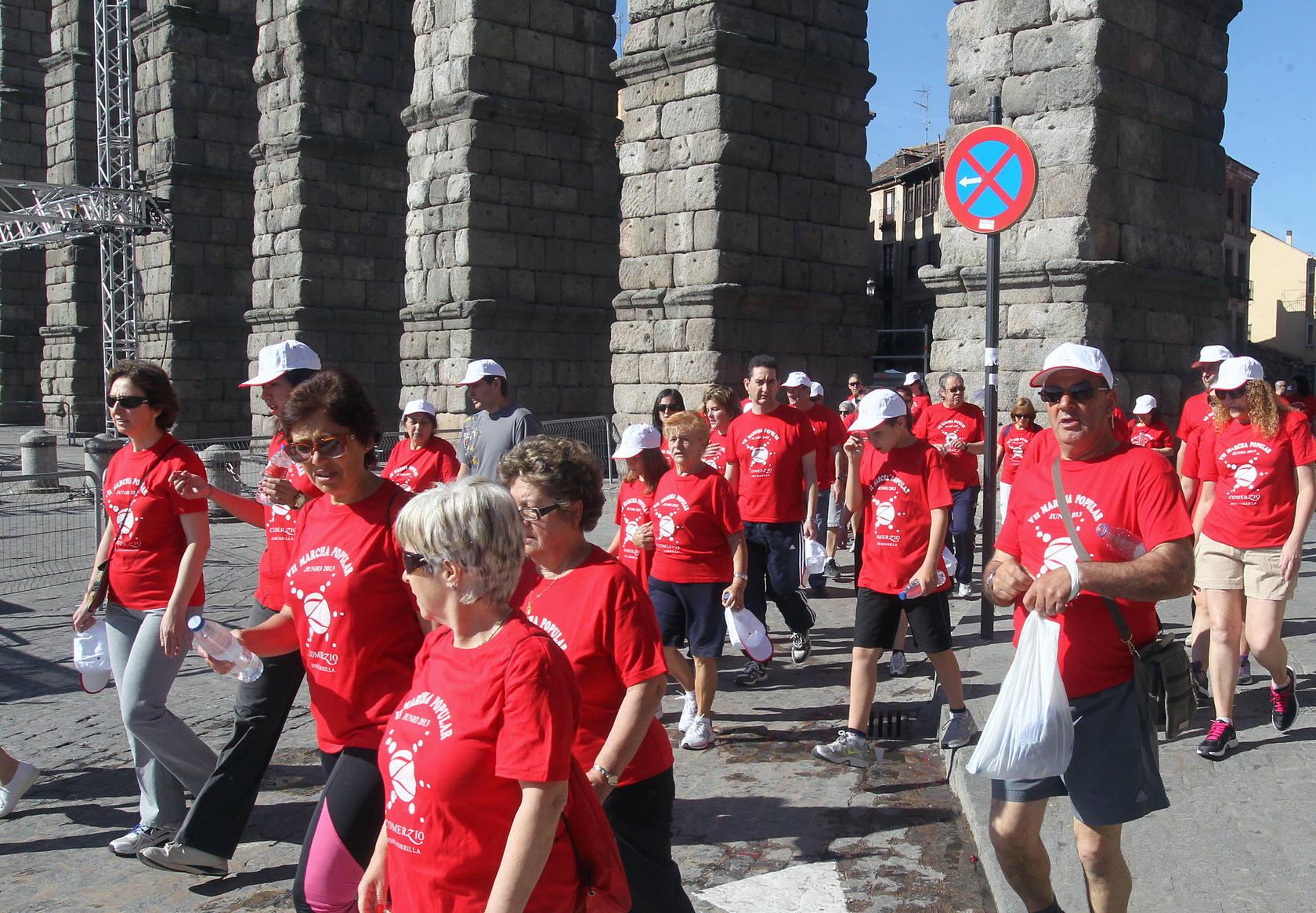 VII Marcha contra el párkinson organizada por la Asociación Comerzio José Zorrilla