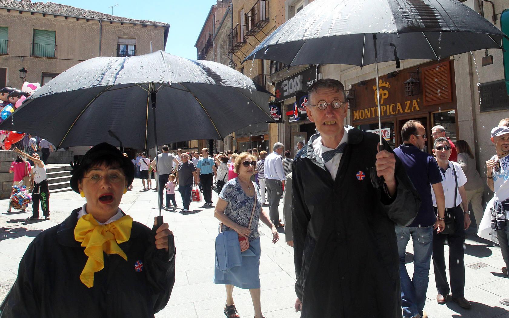 Teatro de calle en las las Ferias y Fiestas de San Juan y San Pedro de Segovia 2013