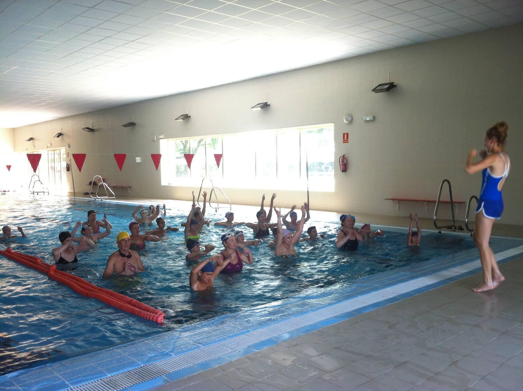 Aquagym para usuarios piscinas