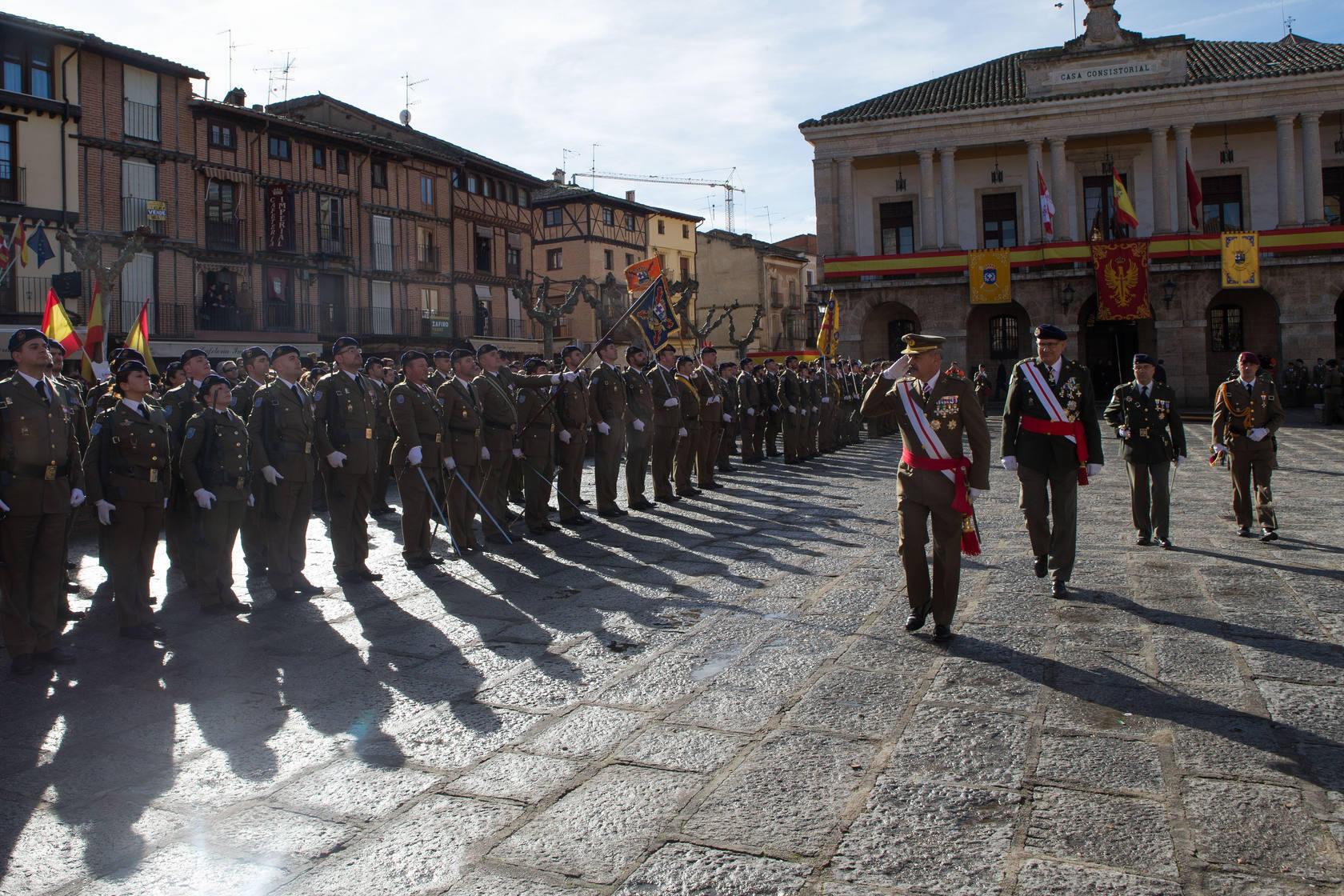 Acto de entrega de Estandarte a la Agrupación del Hospital de Campaña (Agruhoc) de la Brigada de Sanidad del Ejército de Tierra en Toro, Zamora