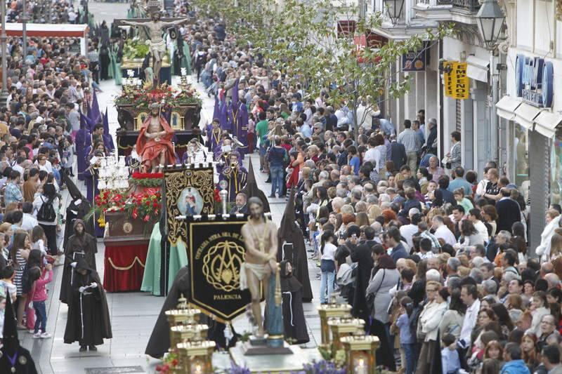 Procesión de la Oración del Huerto en Palencia