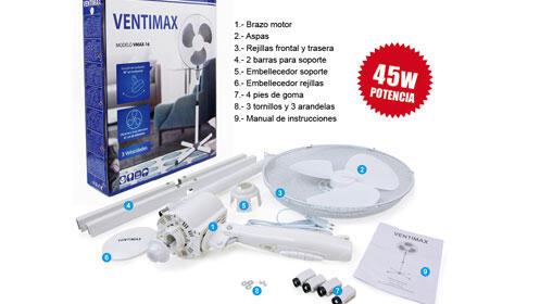 Ventilador de pie Ventimax