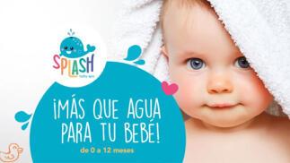 Splash Baby Spa para tu bebé con masaje