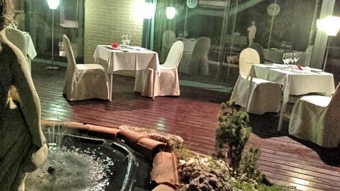 Cena de verano para dos en la terraza del NH Valladolid