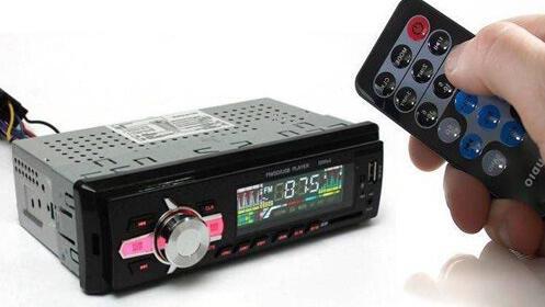 Radio para coche: reproductor MP3 con Bluetooth y mando