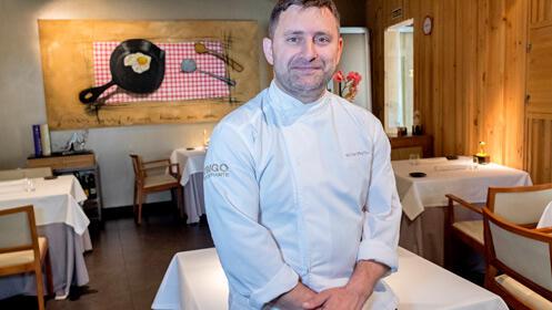 Menú estrella Michelin en el Restaurante Trigo-Mesa Degusta