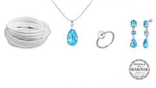 Caja regalo Blue Nice Swarovski Crystal