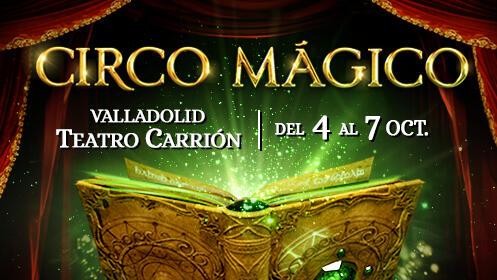 Circo Mágico entrada exclusiva para ANFITEATRO I y II