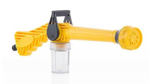 Pistola de agua a presión con depósito 8 en 1