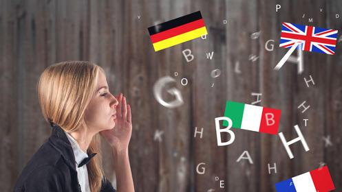 Aprende italiano o alemán: dos meses de clases presenciales