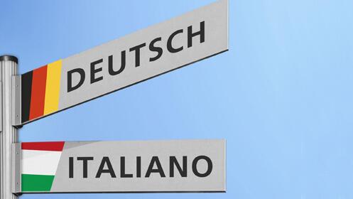 Dos meses de clases presenciales de alemán o italiano