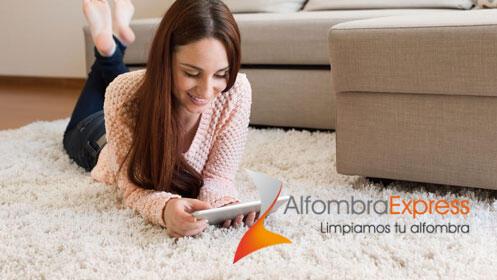 Desinfecta y limpia alfombras, mantas y edredones ¡a domicilio!