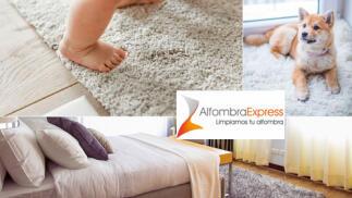 Descuento a domicilio para limpiar alfombras, mantas y edredones