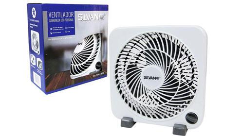 Ventilador compacto Silvano