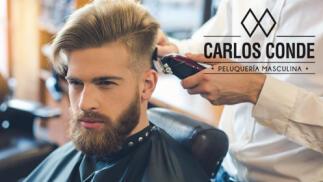 ¡Inauguración Barbería Carlos Conde! Corte de caballero 6,90€