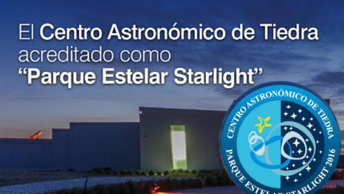 Ven a ver las estrellas al centro astronómico de Tiedra