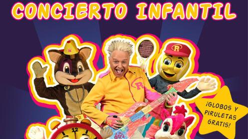 Concierto infantil con Raúl Charlo