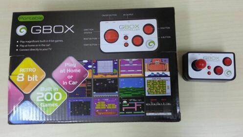 Consola Retro con 200 juegos años 80