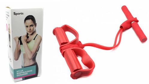 Cuerda de tracción de goma para tus ejercicios