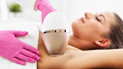 2 sesiones depilación láser diodo Sapphire 12€