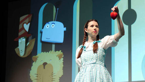 Teatro infantil: El viaje de Dorothy + La pintora Flora 15€