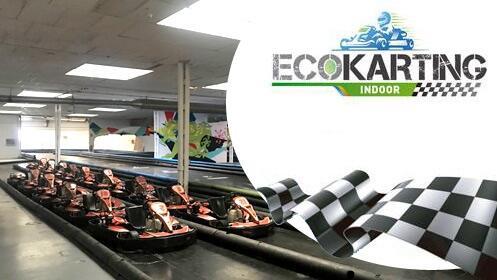 Súbete a la pista del nuevo Ecokarting indoor