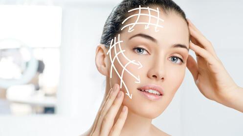 Alta medicina estética, facial premium con ácido hialurónico