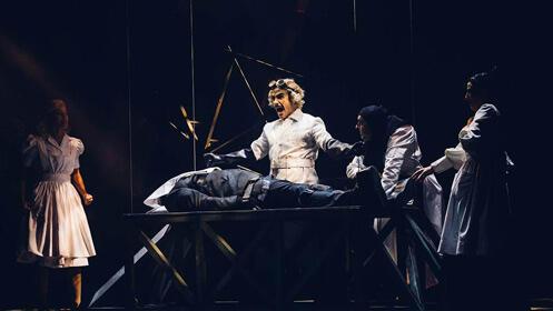 'El Jovencito Frankenstein' en el Teatro Calderón