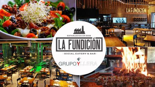 Cena degustación en 'La Fundición' con maridaje de Yllera