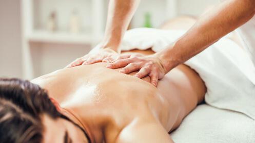 Impresionante masaje relajante o reductor con descuento