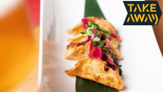 Viaje por los sabores de Asia: menú para 2 recoger o envío