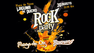 Mago de Oz y Burning - pack Entradas Laguna Rock Party
