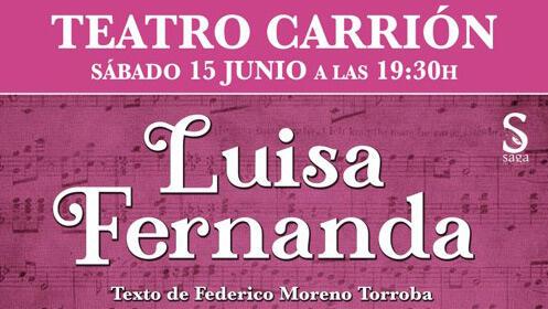 Zarzuela 'Luisa Fernanda'