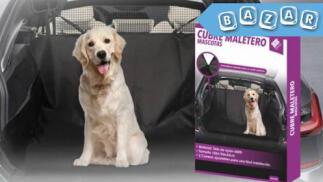 Cubre maletero para mascotas con red