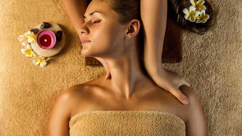 Máximo relax con este fabuloso masaje con aceites