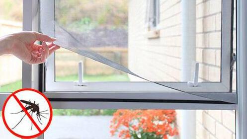 Mosquitera adhesiva para ventana