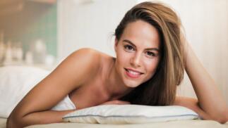 Peeling facial con ácido glicólico, radiofrecuencia y masaje