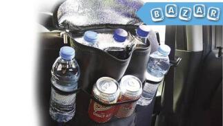 Organizador térmico para el asiento del coche