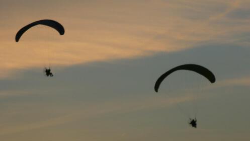 Un vuelo inolvidable a bordo de un parapente