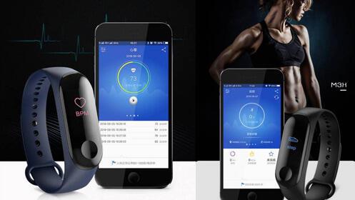 Pulsera deportiva SmartBand M3