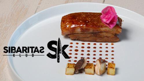 Menú Sibaritas Klub, alta cocina en Mesa Degusta